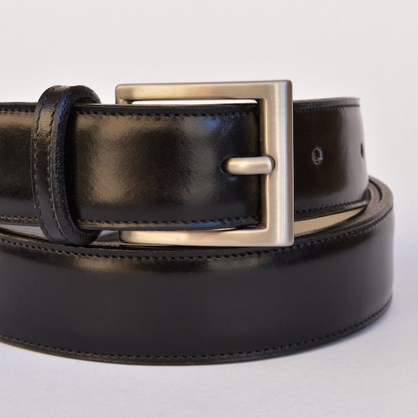 Black Roma Dress Belt