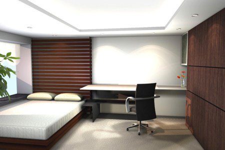 bedroom interior small designs for a small bedroom bedroom design ideas with interior designers bedrooms fur carpet and wooden bed also white covered bedding sheet pillows divider high headboard plant
