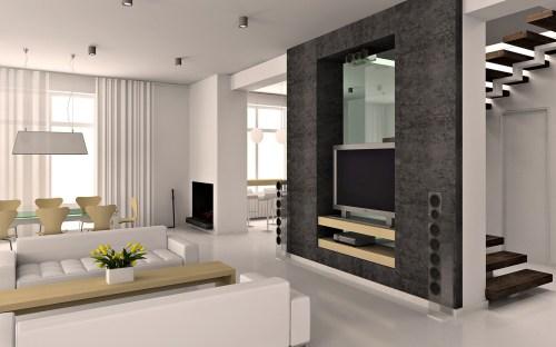 Medium Of Living Rooms Interiors