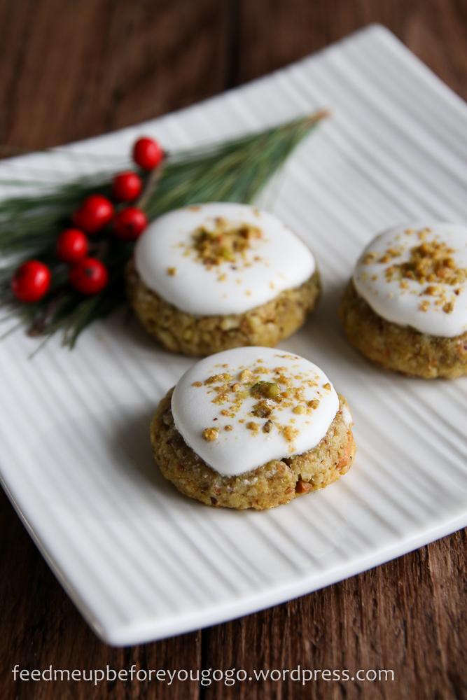 Pistazien-Baiser-Plätzchen Weihnachtsplätzchen Rezept feed me up before you go-go-3