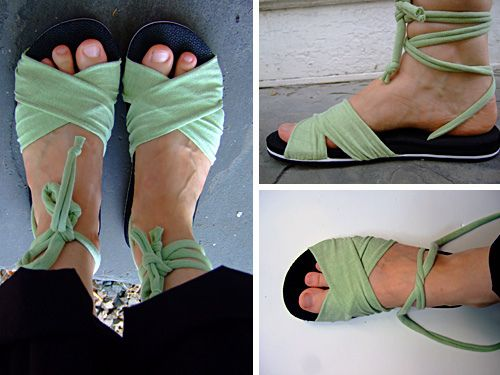 4 DIY Shoe Refashions for the Nothing New Challenge