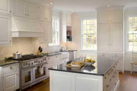 built in wainscoting kitchen backsplash ideas