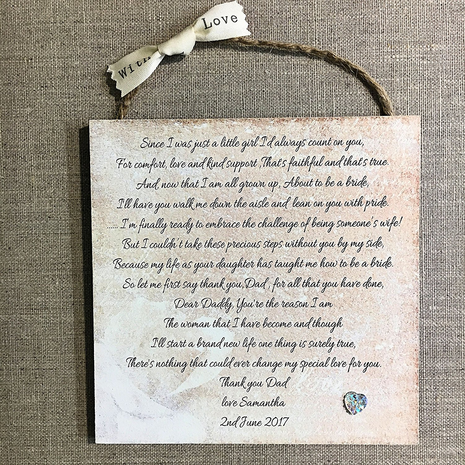 Relaxing Bride Gift Ideas Feel Magic Far Groom Gifts Bride Wedding Wooden Plaque Card Dad Gift Far Far Groom Gifts Uk Stepfar gifts Father Of The Groom Gifts