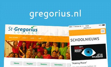 Bezoek de website van het St-Gregorius College