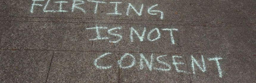 feminism - rape culture (flirting is not consent)