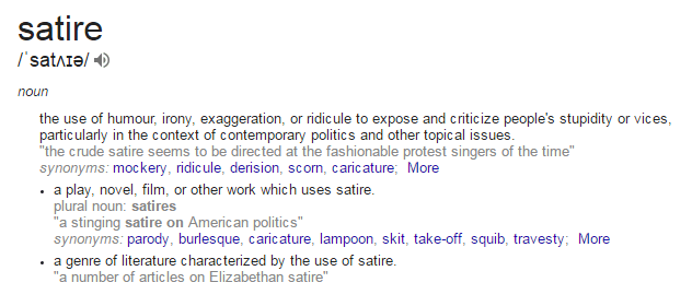 satire-definition