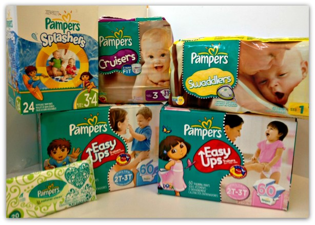 Pampers Win Diapers for a Year Giveaway Image