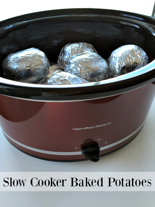 Holiday Cooking Hack: Slow Cooker Baked Potatoes! – Feisty Frugal ...