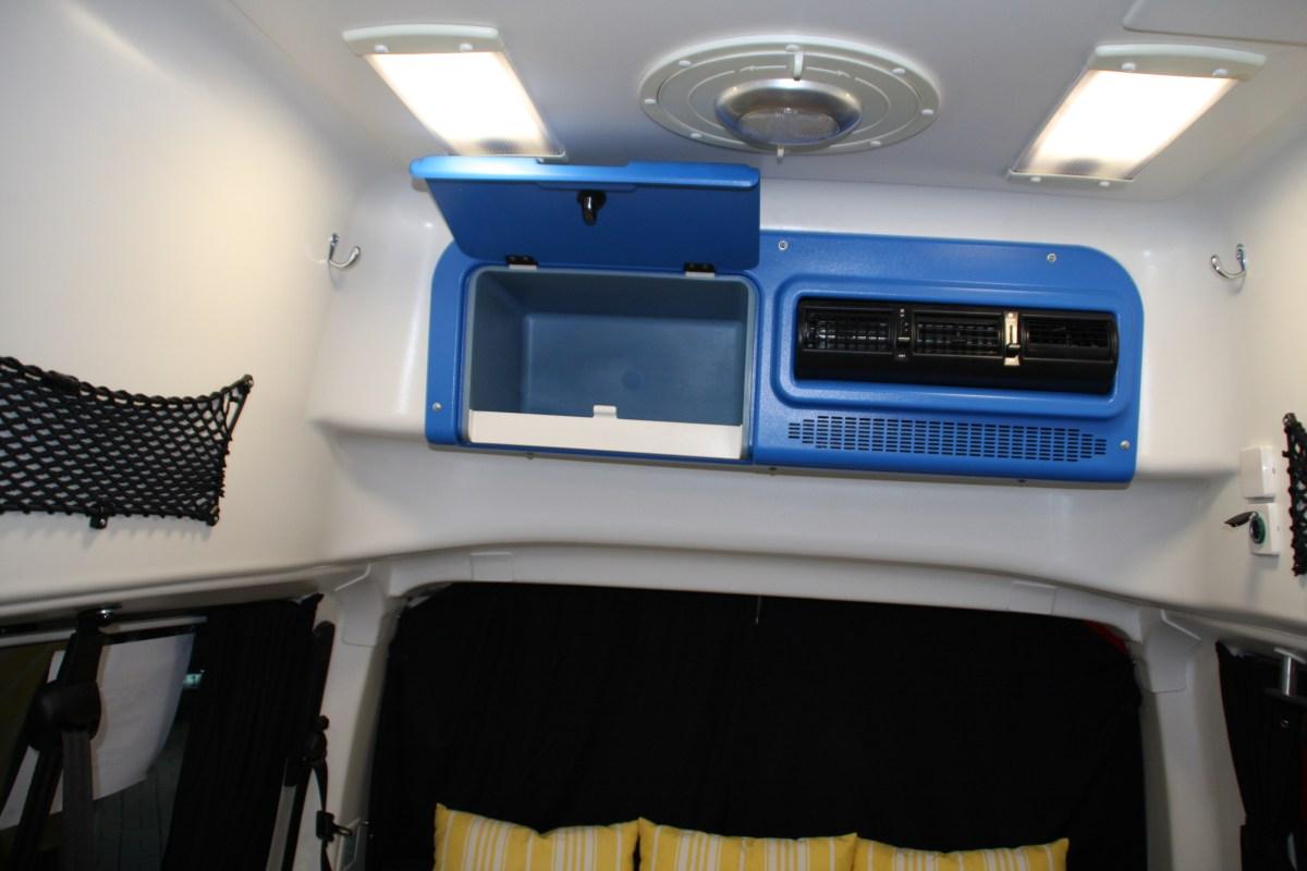 Klimaanlage und Stauraum hinten
