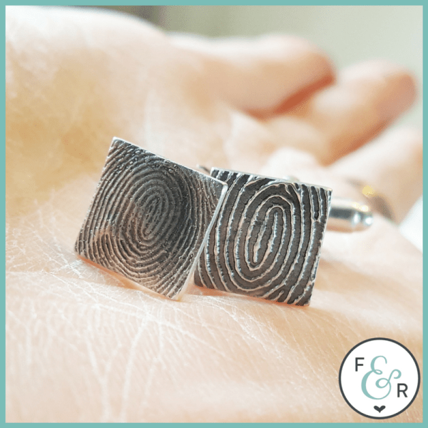 fingerprint pendant felix and reuben keepsake jewellery