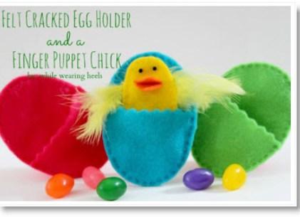 felt egg