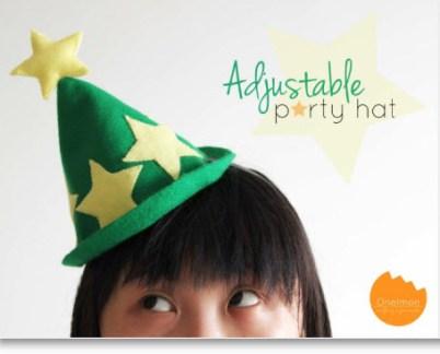 Felt party hat