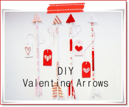 DIY Arrow Valentines