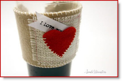 Heart cup Sleeve