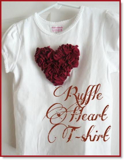 Ruffle Heart Tee