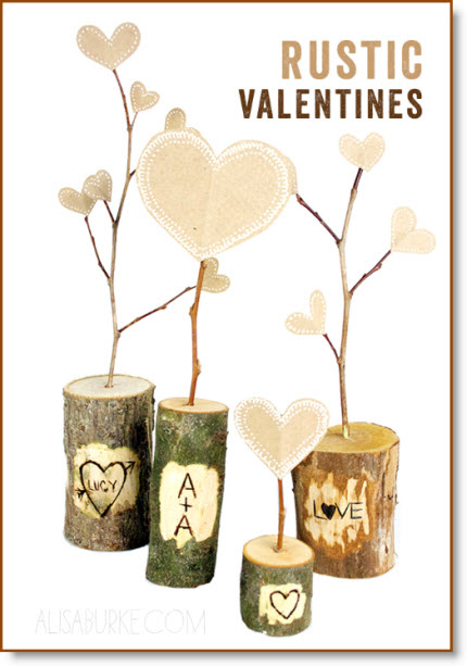 rustic Valentines