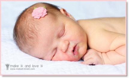 Wool Felt Hair Accessories for Baby – Felting