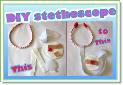 Felt Stethoscope DIY