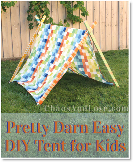 DIY Tent for Kids