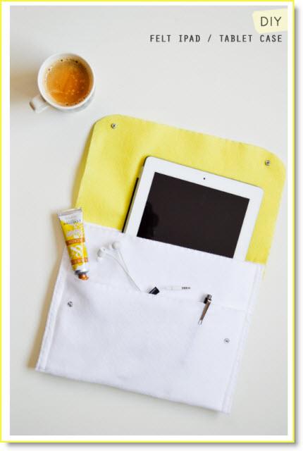 Felt iPad  tablet case