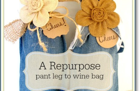 Wine Bag Repurpose