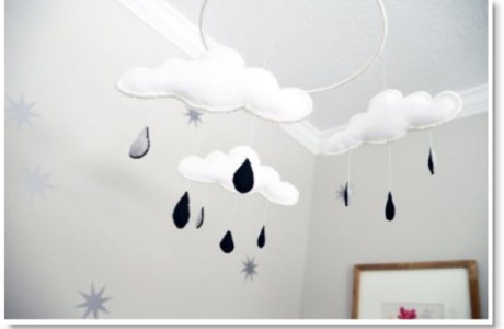 clouds for baby's room