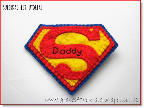 Father's Day Felty Tutorial