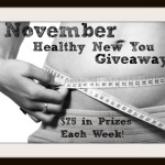 Healthy New You Giveaway Week 1 – CLOSED