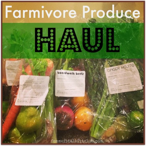 Farmivore Produce Haul