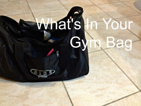 What's In Your Gym Bag