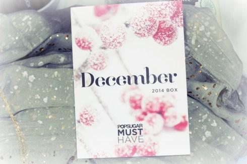 December 2014 POPSUGAR Must Have Box #musthavebox #popsugarmh