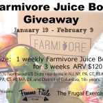 Farmivore Juice Box Giveaway (CLOSED)
