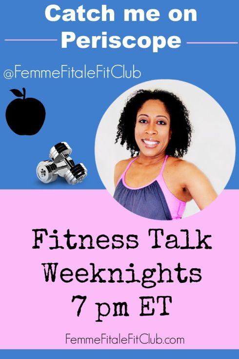 Fitness Talk Announcement