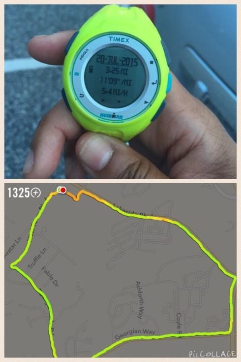 Nike+ Running app and Timex Run X20 GPS Watch