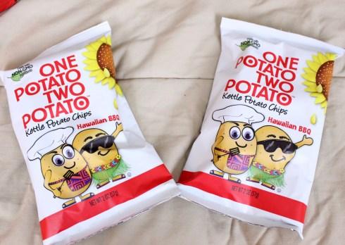 One Potato Two Potato Hawaiian BBQ Kettle Chips
