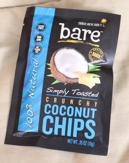 Simply Toasted Crunchy Coconut Chips by Bare Snacks