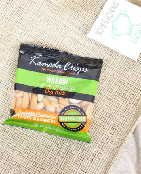 Wasabi Peanut Mix Kameda Crisps