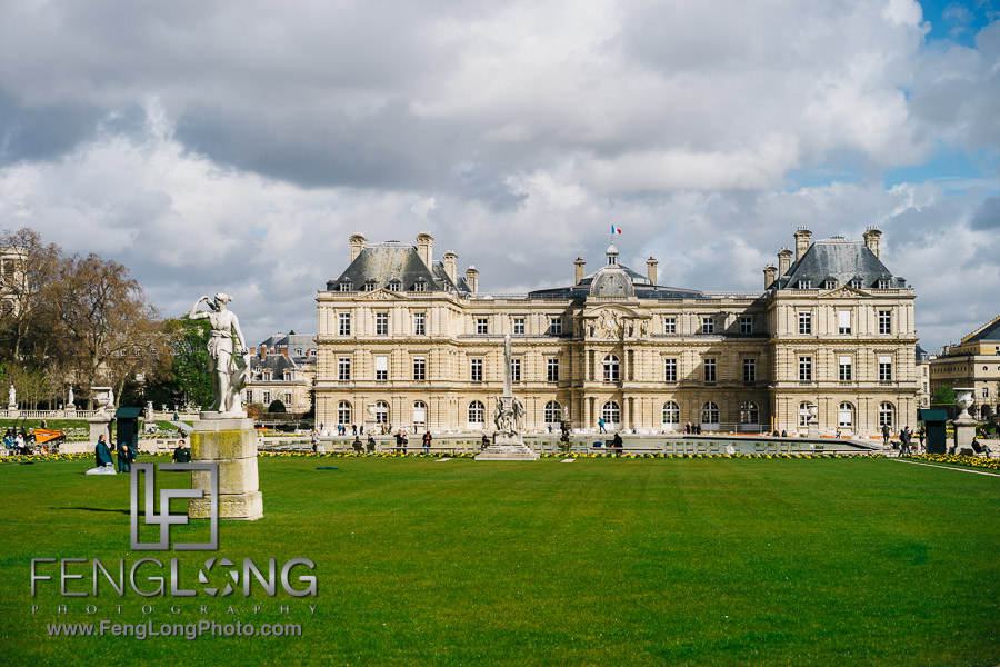 Luxembourg Gardens PreWedding Paris Photo Vacation 2016