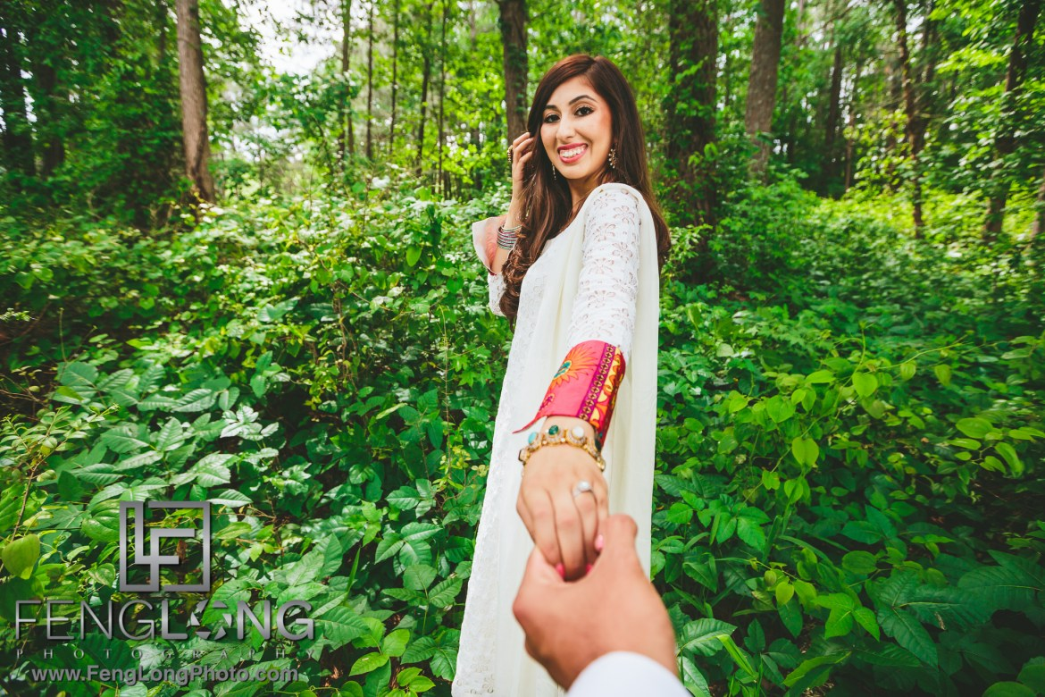 Lakeside Indian Engagement Session in Atlanta