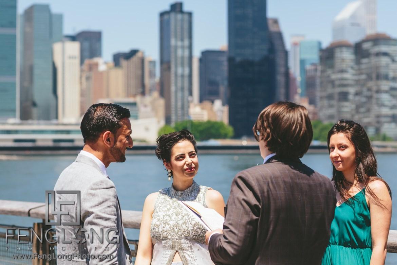 Long Island City Civil Ceremony Indian Wedding