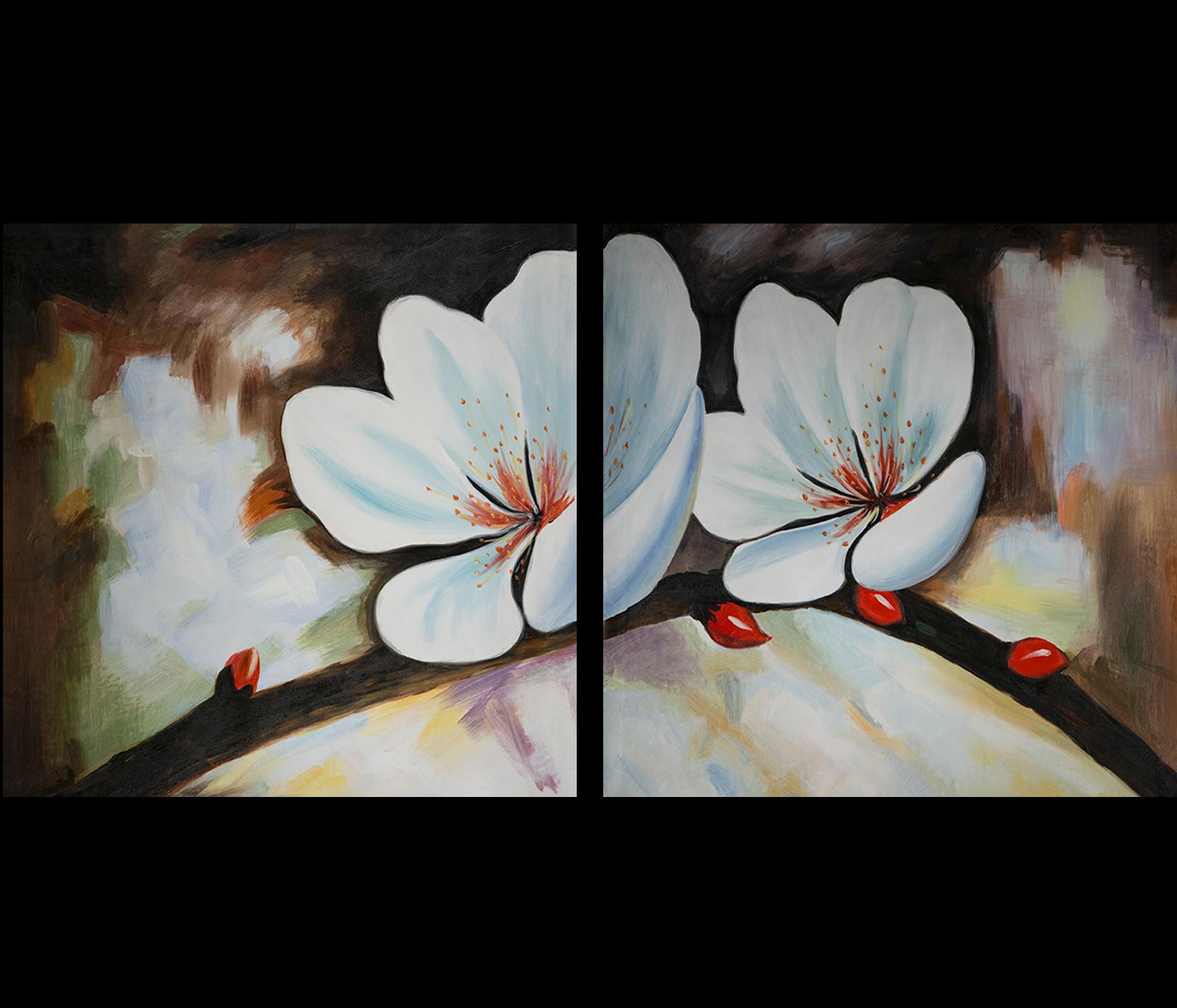 Luxurious Bathroom Wall Art Metal 66 Flower Wall Art Feng Shui Painting Flower Painting Wall Art art Modern Wall Art