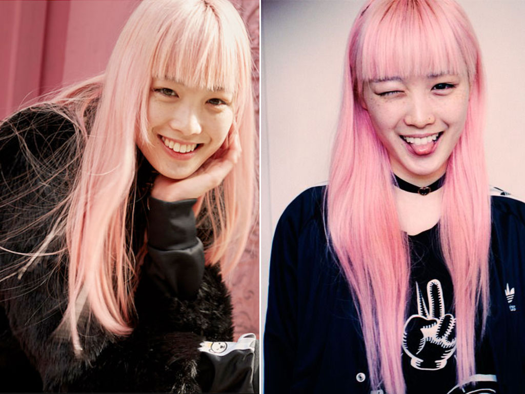 Fernanda-Ly-Pink-Hair-2015