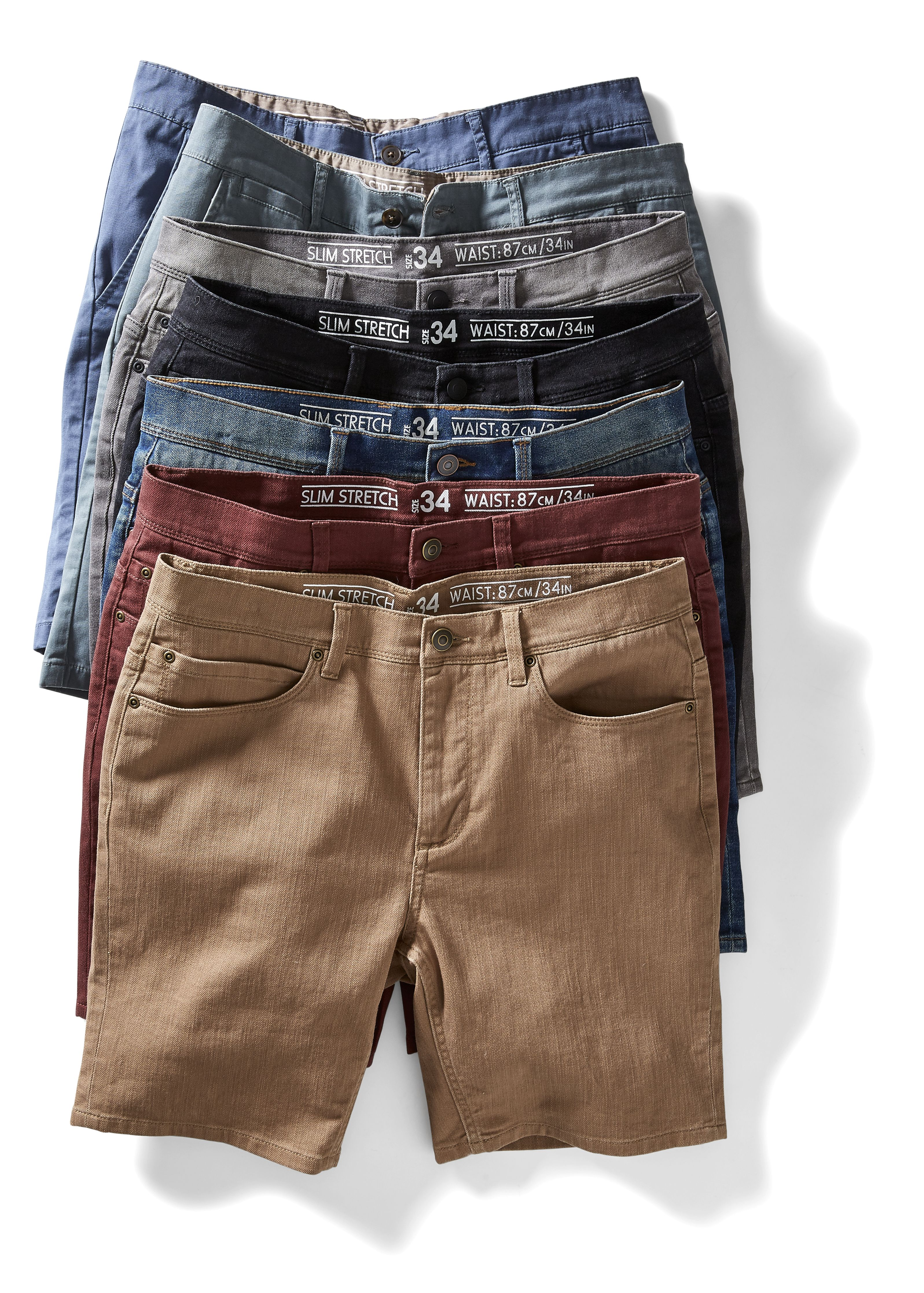 Kmart Men's Assorted Slim Fit Chino, sizes 30 - 40in, RRP$25.00