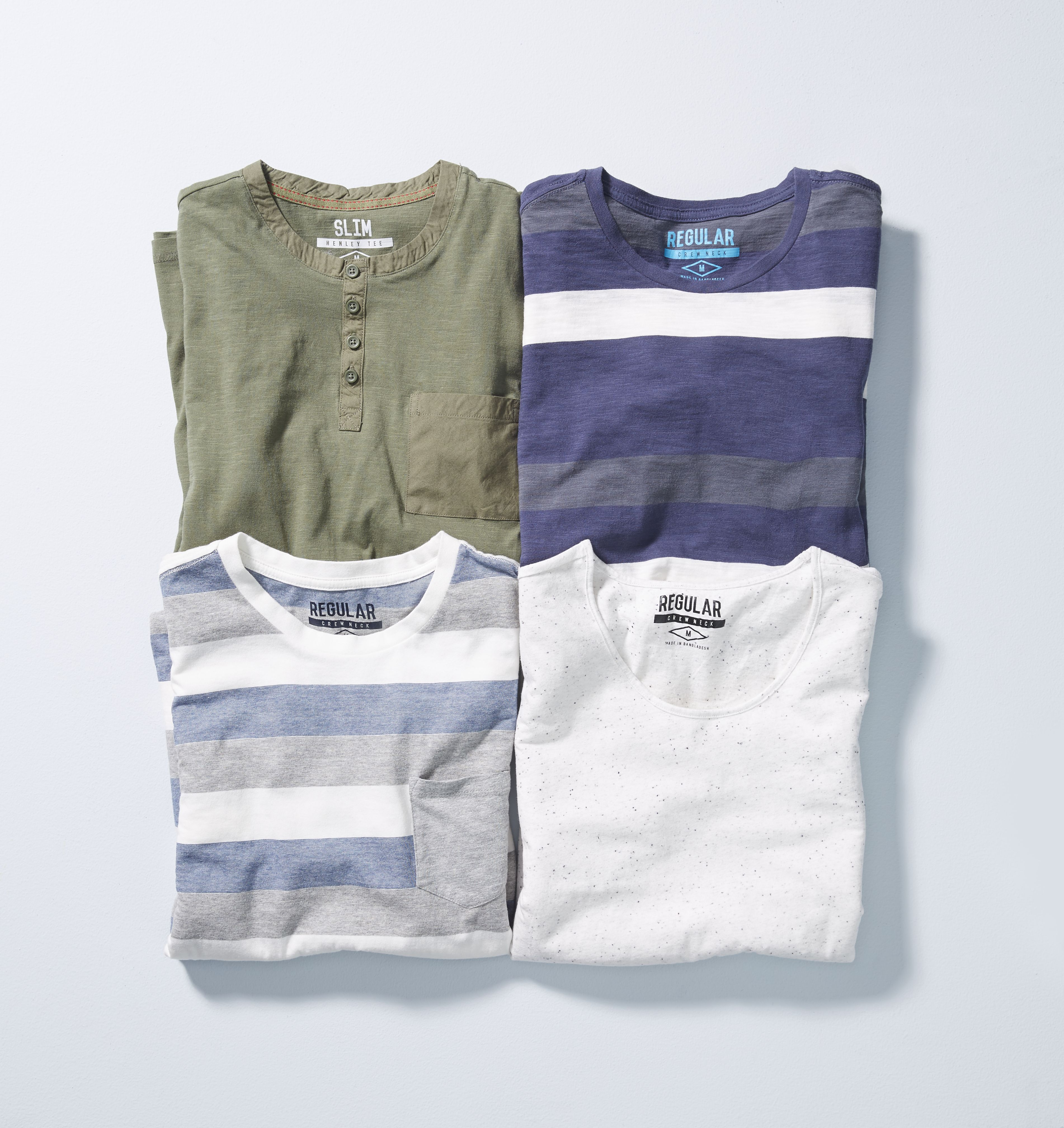 Kmart Men's Cotton Blend Tee, Size XS- 4XL, RRP$12ea