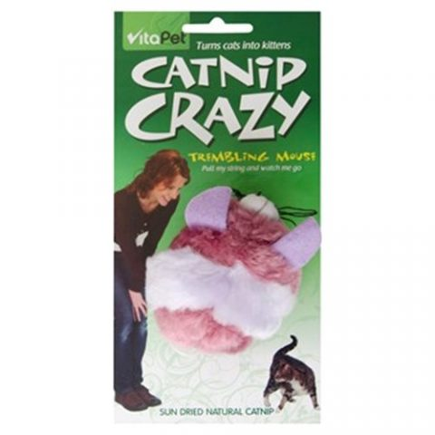 Catnip Crazy Trembling Mouse