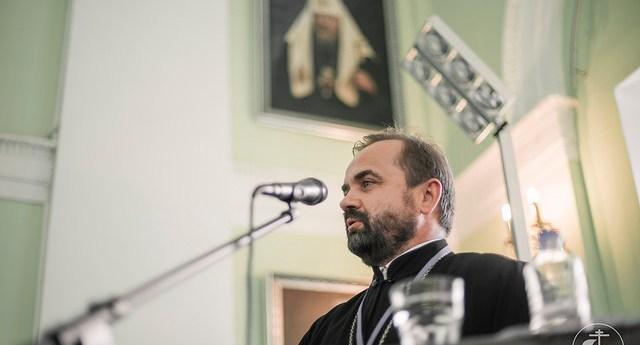 Настоятель Феодоровского собора на конференции в СПбДА