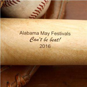 Alabama May Festivals 2016 souvenir bat