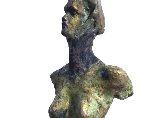BUSTO MADRE 1- Bronze patiné (H45*L13*P7) (2015)