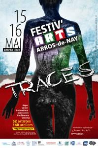 Affiche Festiv'Arts 2016-Traces