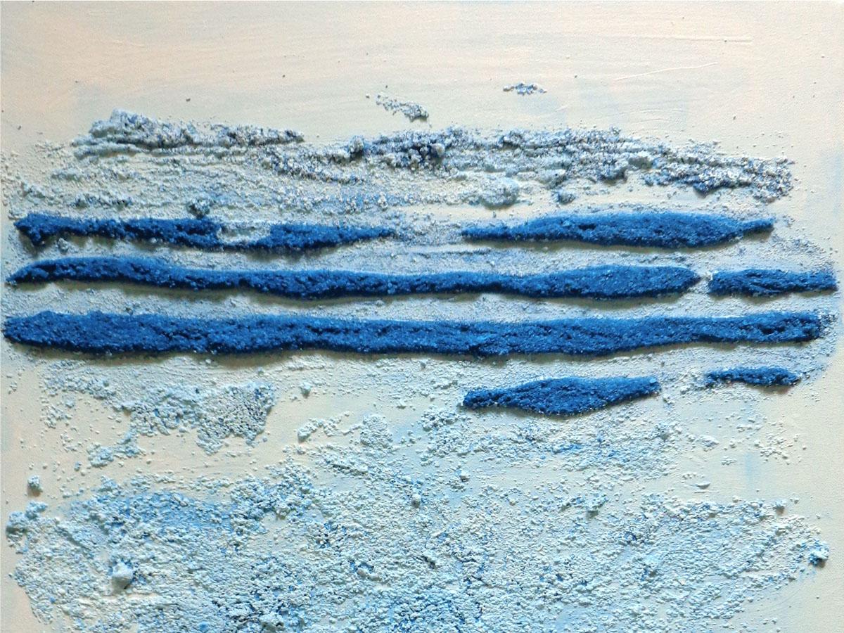 HORIZONS BLEUS (diptyque) - Acrylique, sable et pigments-web